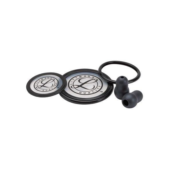 3M™ Littmann Stethoscope Spare Parts Kit, Cardiology III, Black 40003