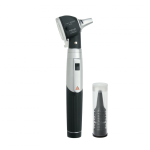 Heine mini 3000 Fiber Optic (F.O) Otoscope with Handle and 10 Free Disposable Tips