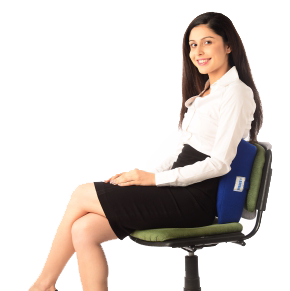 New moulded Orthopaedic back rest-small
