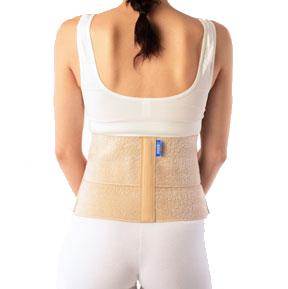 "Abdominal belts width 8""/20cms"