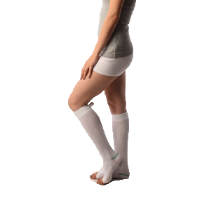 Anti-Embolism stockings knee length (open / lower hole)