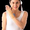 Elastic wrist splint right or left
