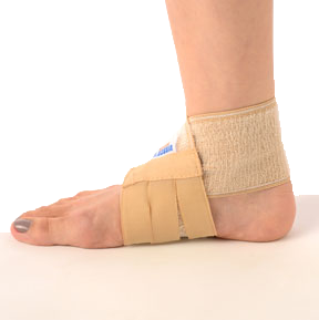 Ankle binder figure of eight