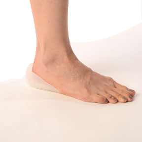 Silicon heel cushion