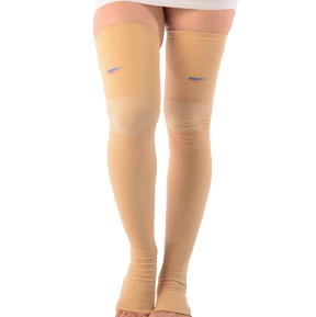 Medical compression stocking (above knee)