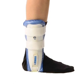 Air ankle sturrup brace-inflated