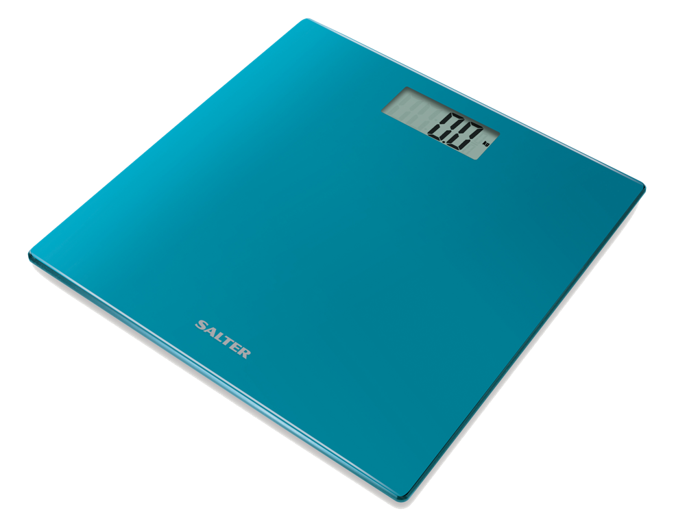 Salter Model -9069 Teal Weighing Scale (Blue)