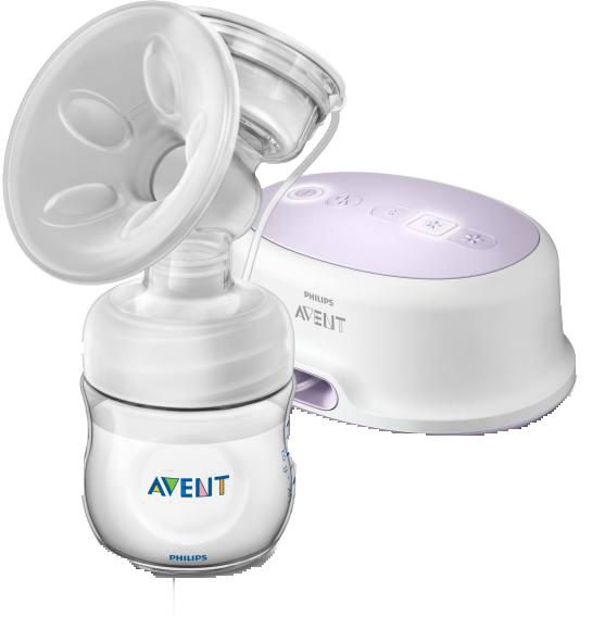 Comfort electric breast pump