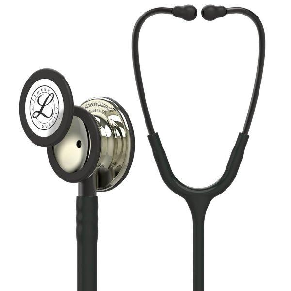 3M Littmann Classic III Stethoscope Champagne with Black Tube 5861