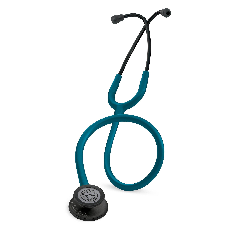 Littmann Classic III stethoscope Caribbean blue with black finish Chestpiece 5869