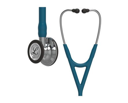 3M Littmann Cardiology IV Stethoscope Caribbean Blue Mirror Finish 6169