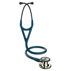 3M Littmann Cardiology IV Stethoscope with Champagne finish Caribbean Blue 6190