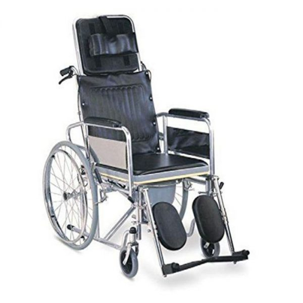 Karma Commode Wheelchair Rainbow 8