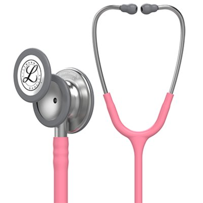 3M Littmann Classic III Stethoscope,Pearl Pink 5633