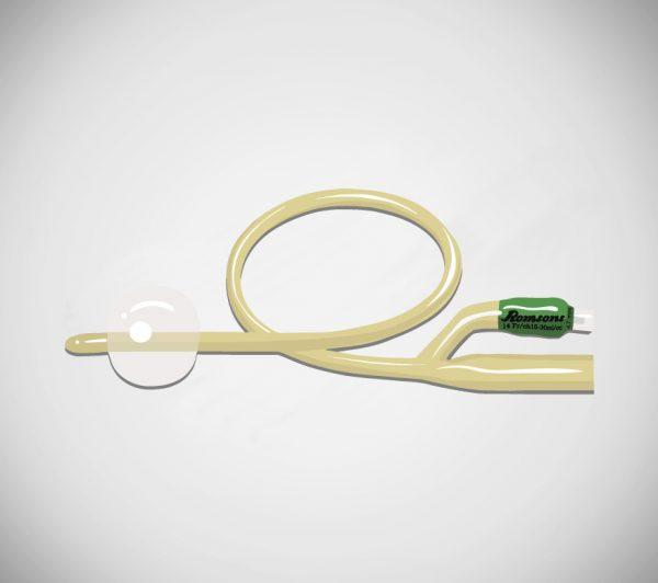 Romsons Uro Cath 2 Way Latex Adult Foley Catheter